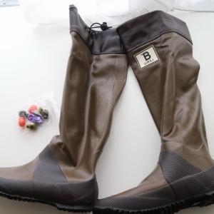 雨の日も怖くない バードウォッチング長靴