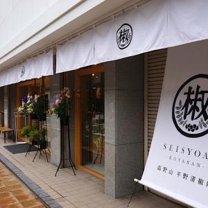 【高野山】OPENホヤホヤの平野清椒庵で山椒を使った商品を購入してみたら美味かった。