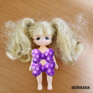 マキちゃんの髪を綺麗にするぞー!!