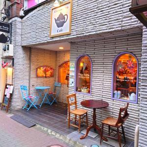 【人形町】Tiny Toria Afternoon Tea&Cafeは英国アフタヌーンティーの名店のスコーンを頂く。