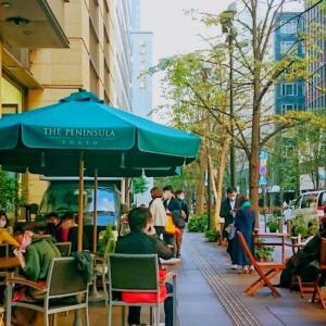 """【日比谷】ペニンシュラのザ・テラスは気軽に""""上質""""が味わえるカフェです。"""