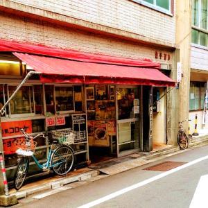 【東銀座】パン通なら一度は食べたい、チョウシ屋さんのハムカツサンドを頂きます。