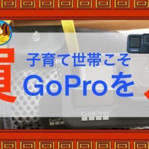 子育て世帯こそGoProを買え!【スマホとの差別化とメリットの解説】