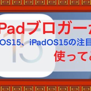 iOS15、iPadOS15の注目機能をブロガー目線で実際に使用してみた感想