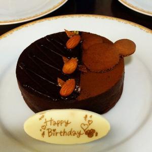 宿泊者限定チョコレートケーキでお祝いを ディズニーランドホテル⑤ 7月平日ホテルホッパーする三連泊その30