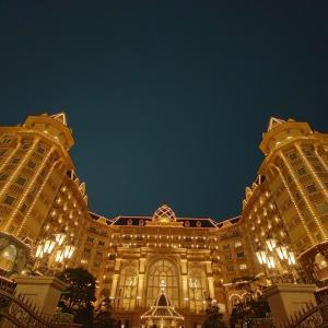 アリスガーデンと夜のディズニーランドホテル ディズニーランドホテル⑦ 7月平日ホテルホッパーする三連泊その32