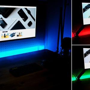 デスク周りの間接照明におすすめ。手軽に部屋の雰囲気を変えるLeproのLEDテープライト【レビュー】