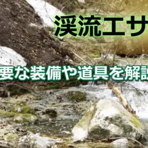 渓流エサ釣りの魅力とは?必要な装備や道具を解説