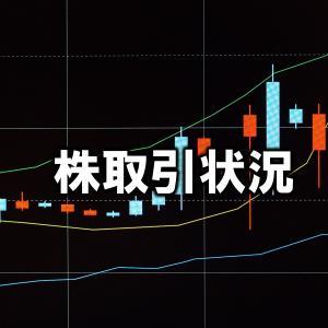 株取引状況 9月22日(水) 身動きが取れない。。。