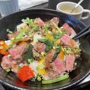 【新下関】肉×2食堂USAGI(うさぎ)のステーキ丼が美味い!