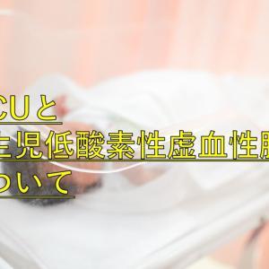 【実体験】NICUと新生児低酸素性虚血性脳症について
