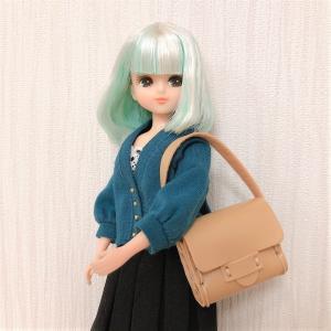 リカちゃんにピッタリ♡Seriaのフェイクレザーキット!