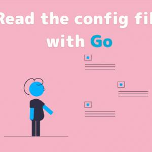 go-iniを導入してconfigファイルをGoプログラムで読み込む