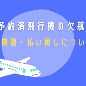 【解説】予約済飛行機の欠航~国内線の対応~