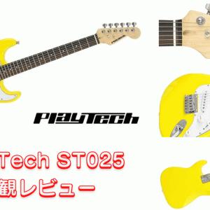 子供向けギター【PLAYTECH ST025M】外観レビュー
