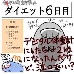 ダイエット6日目~10日目