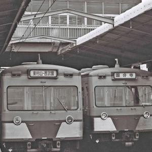 東村山の701系、801系、新101系 1981.1.15