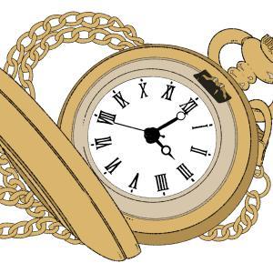 時間の経過の体感速度