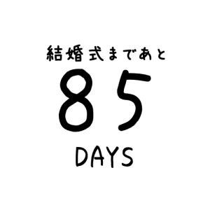 【あと85日】第三回ウエディングドレス選び