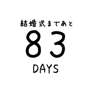 【あと83日】ウエディングドレス決定