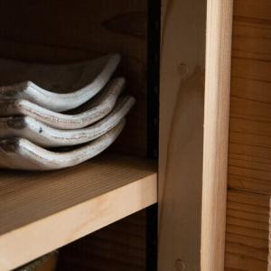 我が家の手作り食器棚