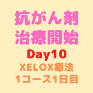 【Day10】抗がん剤治療開始