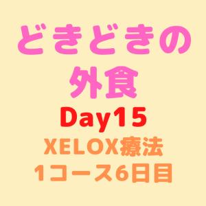 【Day15】どきどきの外食