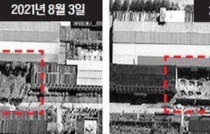 北朝鮮の核施設拡張工事