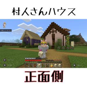 #9 村人さんハウス2軒