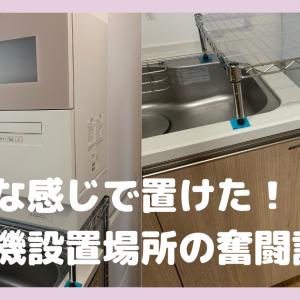 【念願の】食洗機の置き場スペースがなかったから手作りしたよ!!【NP-TH4】