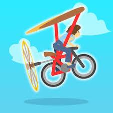 健全な生活35日目 空飛ぶ自転車