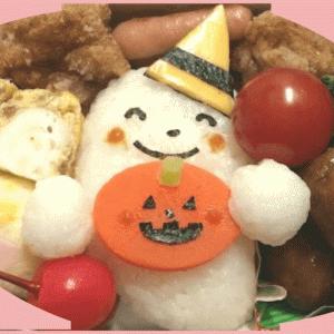 ハロウィンキャラ弁|こどもが喜ぶ簡単おばけの作り方