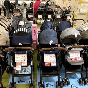 【子育て】ベビーカー選び 必要か分からないけど新生児用ベビーカーを見に行く