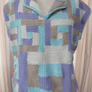 ナンバークロッシェ(number crochet)サマーニット完成❣