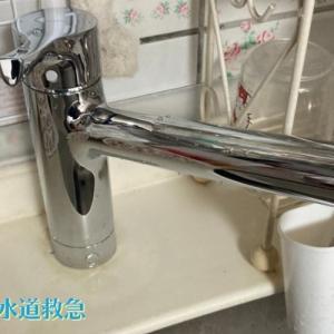 キッチン水漏れ 新しい水栓に交換し解決!【大分県豊後高田市の事例】