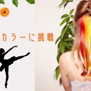 【お団子にアクセント】インナーカラーに挑戦【秋冬のヘアケア】