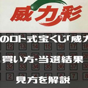 台湾のロト式宝くじ「威力彩」の買い方・当選結果の見方を解説
