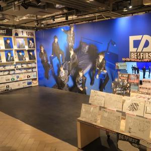 聖地巡礼③@HMV&BOOKS SHIBUYA【BE:FIRST】