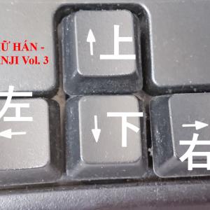 CHỮ HÁN – KANJI Vol. 3 (上・下・右・左・外・中・前・後)