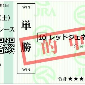 3年連続的中!相性の良い京都新聞杯!川田騎手「レッドジェネシス」単勝&馬単的中!