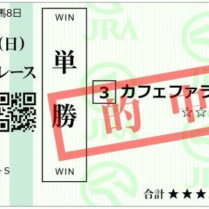 G1フェブラリーS「カフェファラオ」&「エアスピネル」単勝&馬単&ワイド的中!