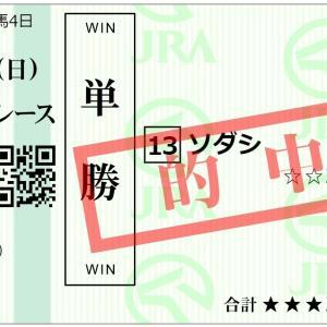 桜花賞馬「ソダシ」が古馬を完封!今年の3歳馬は強いぞ!*単勝&馬単&ワイド的中!