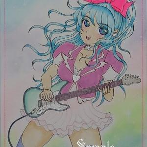 イラスト完成 Rock Girl