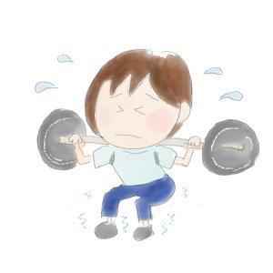 50女の筋トレとダイエット ~実家の片づけに筋肉は必要か~