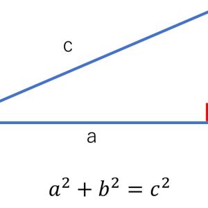 【理論編】三角比!「三平方の定理の復習」