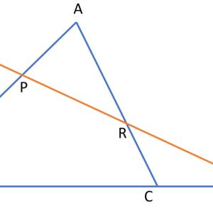 【理論編】図形の性質!「メネラウスの定理・チェバの定理」
