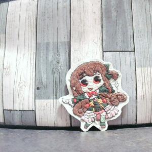刺繍/■マギレコ/作品№3 里見灯火