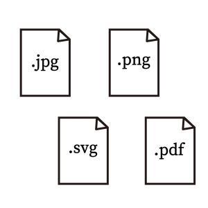 illustratorの書き出し形式 JPG,PNG,SVG,PDFの違いと使い分け