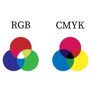 色のRGBとCMYKって何?使い分けは?