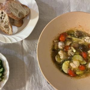 【レシピ】ひとり飯におすすめ!直火皿で簡単アヒージョ
